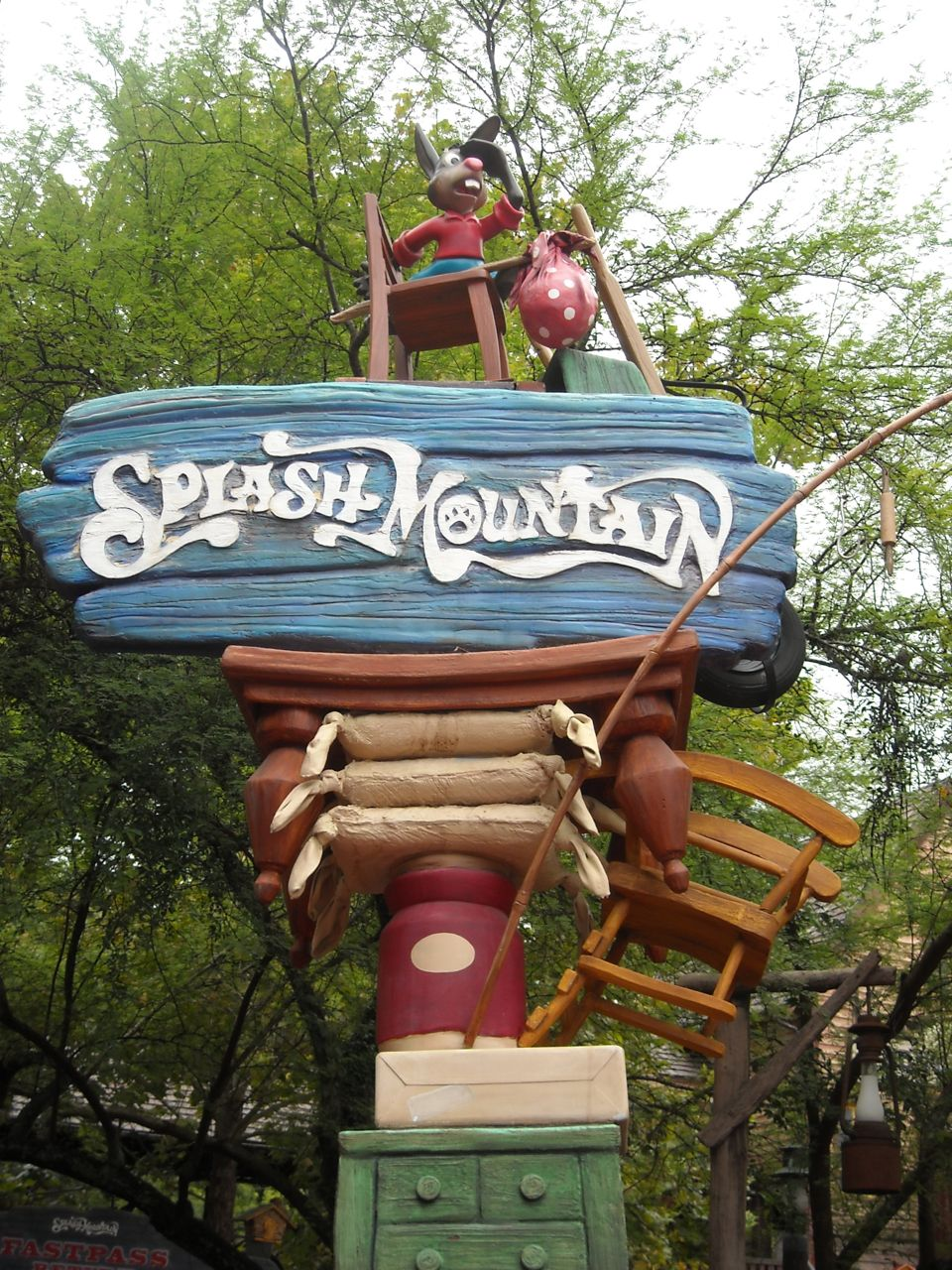 Splash Mountain Sign 1