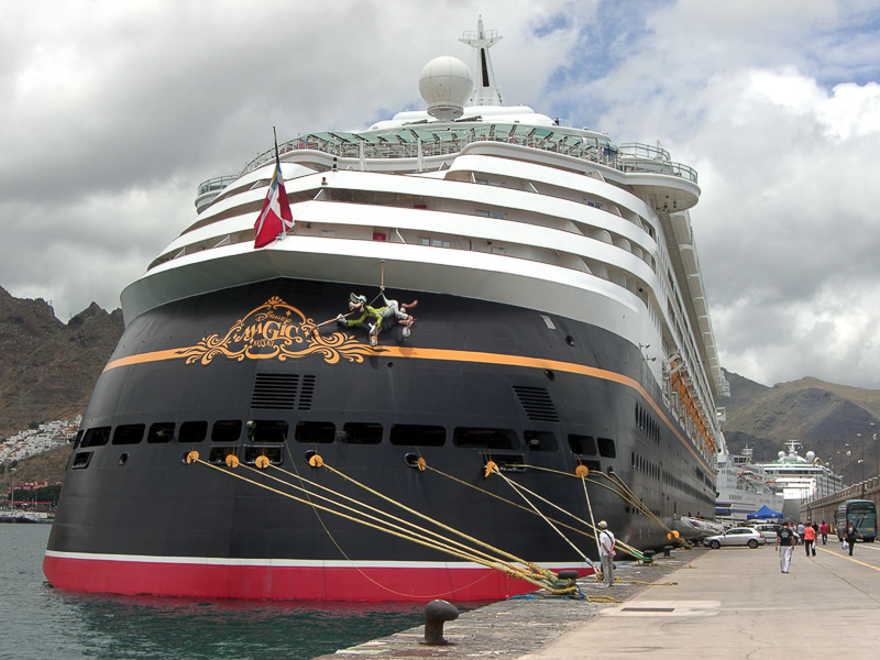 The Magic Behind the Scenes Aboard the Disney Fantasy