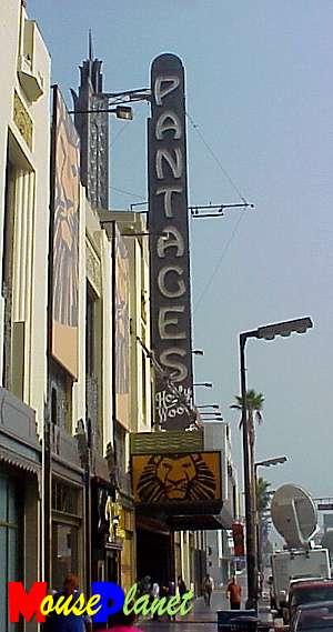 Pantages in LA
