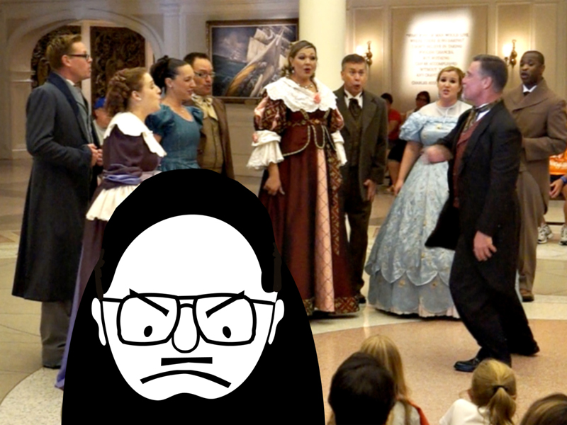 Grumpy Old Fool's Day@Disney - The Voices of Liberty in my Head