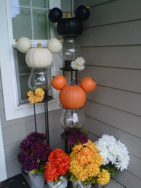 Front Porch Halloween Mickeys