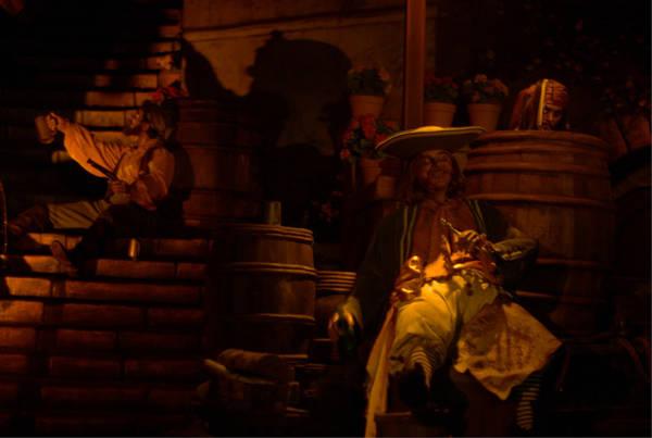 I have the Key scene Pirate of the Caribean DLA