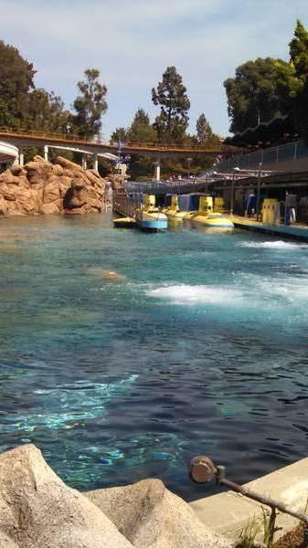 Submarine Lagoon at Disneyland