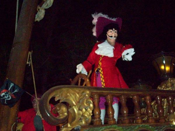 Captain Hook at the Boo to You Halloween Parade