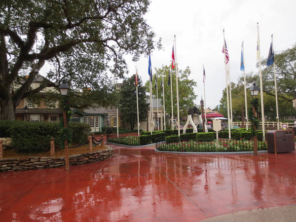 Liberty Square in MK at WDW