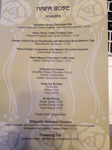 9/17/14 Dessert menu
