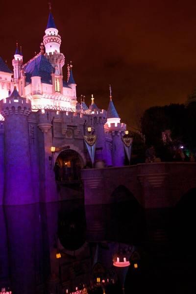 Sleeping Beauty Castel - Night