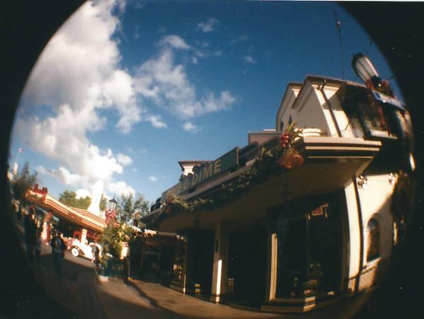 Buena Vista Street Fisheye