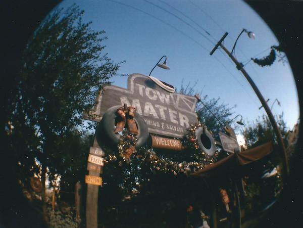 Mater's Junkyard Jamboree Fisheye