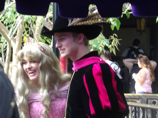 Princess Aurora & Prince Phillip